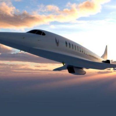 """Boom creará el primer avión supersónico """"Air Force One"""""""