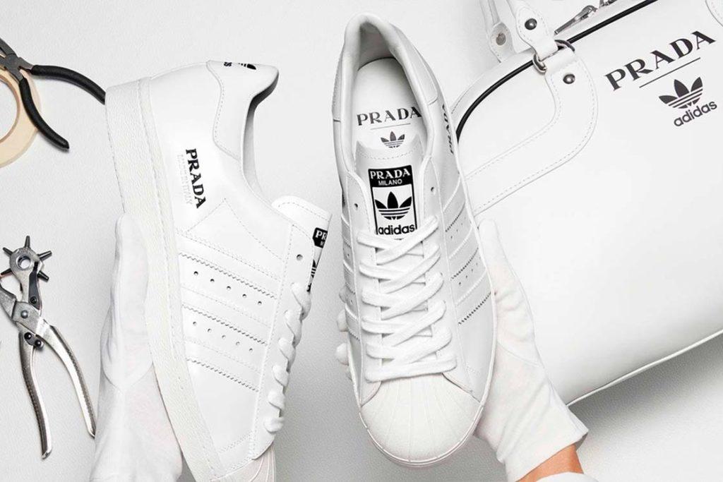 Prada Superstar                                    La nueva colaboración de la maison adidas Originals