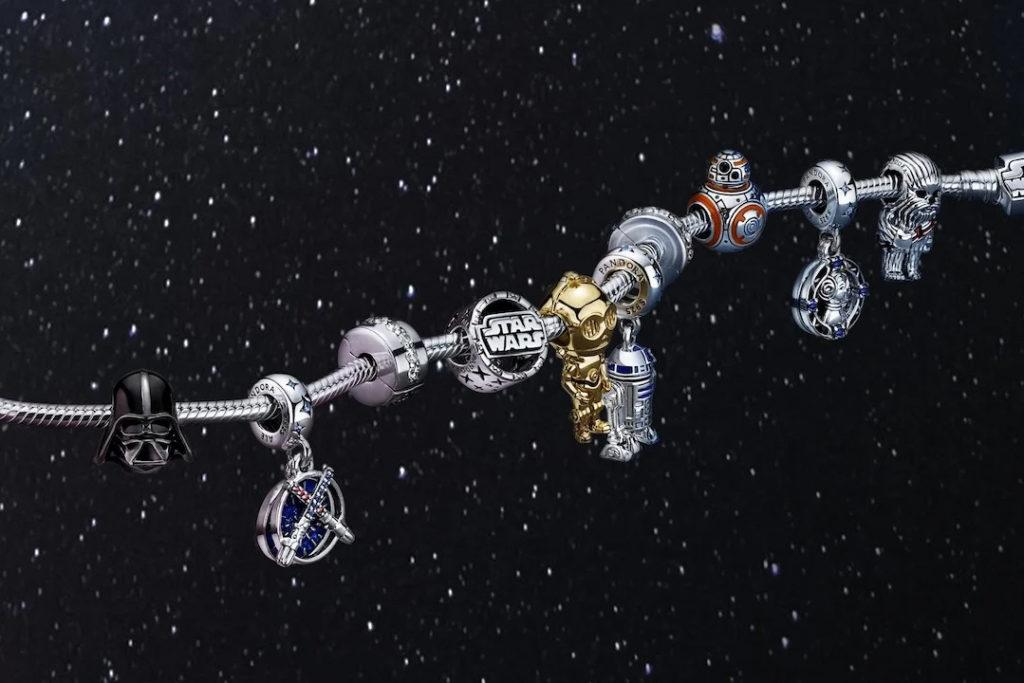Pandora lanza una nueva colección cápsula inspirada en Star Wars (y nos encanta)