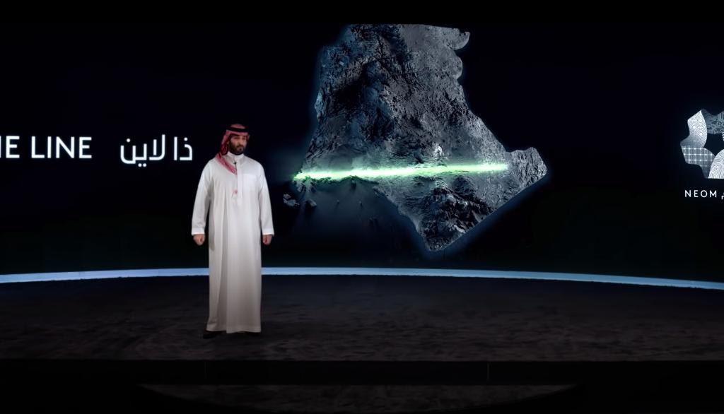 The Line: la ciudad del futuro en Arabia Saudita