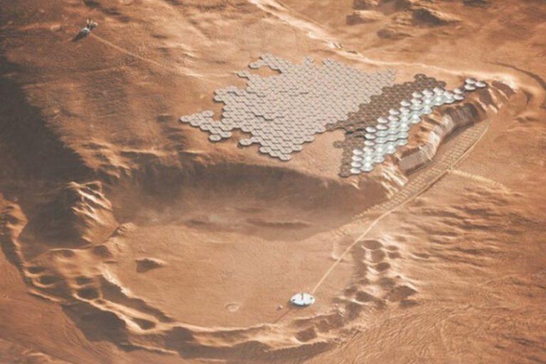 Nüwa, la primera ciudad en Marte