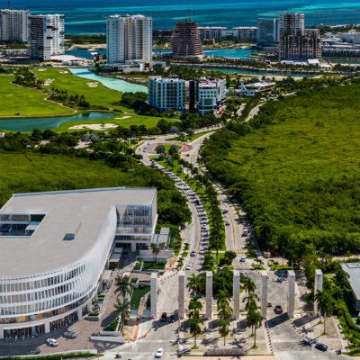 Parque Cancún a semanas de su apertura
