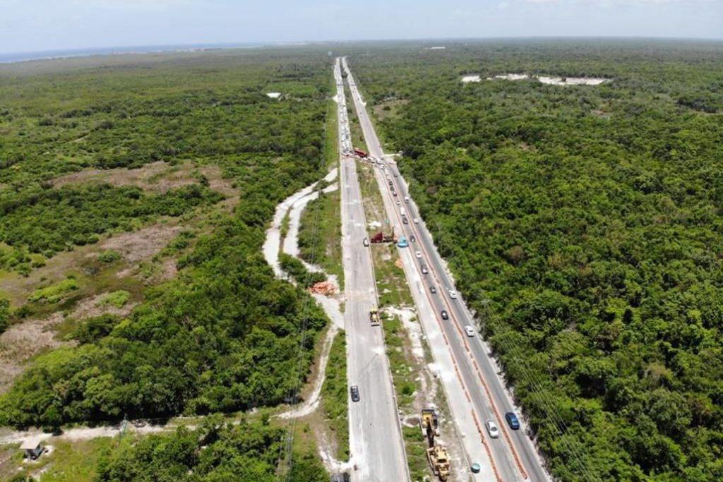 FONATUR atiende con altos niveles de tecnología fracturas de Carretera Cancún-Tulum