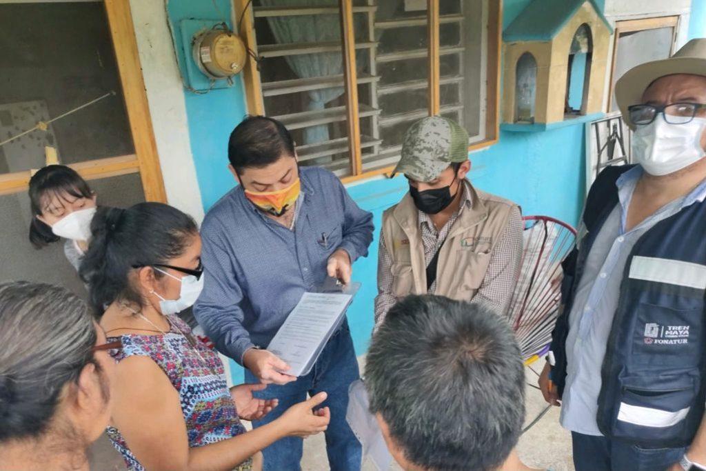 Tren Maya relocaliza 173 viviendas para mantener ruta