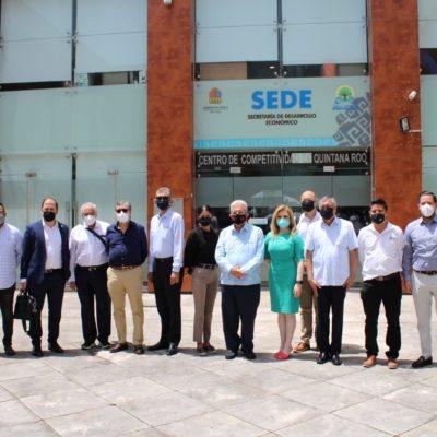 Delegación presenta el Tren Maya ante inversionistas de Panamá