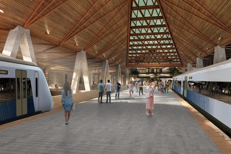 DAFDF Arquitectura y Urbanismo realizará la estación de Palenque del Tren Maya