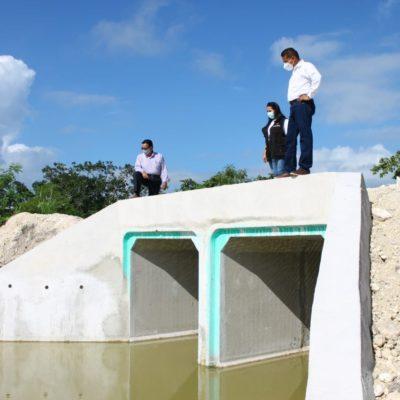 Obras de drenaje de Tren Maya
